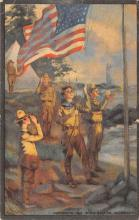 top021877 - Scouts Post Card