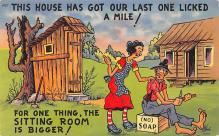 top022315 - Outhouses Post Card Out House Postcard