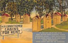top022317 - Outhouses Post Card Out House Postcard