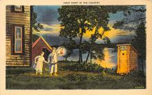 top022349 - Outhouses Post Card Out House Postcard