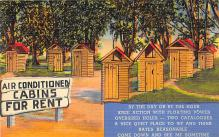 top022353 - Outhouses Post Card Out House Postcard