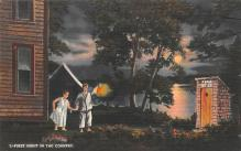 top022375 - Outhouses Post Card Out House Postcard