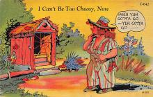 top022377 - Outhouses Post Card Out House Postcard