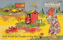 top022379 - Outhouses Post Card Out House Postcard