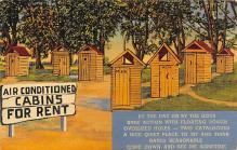 top022383 - Outhouses Post Card Out House Postcard