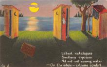 top022403 - Outhouses Postcard Out House Post Card