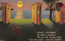 top022417 - Outhouses Postcard Out House Post Card