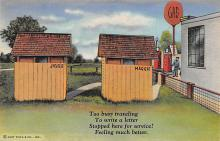 top022421 - Outhouses Postcard Out House Post Card