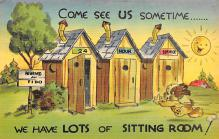 top022449 - Outhouses Postcard Out House Post Card