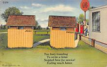 top022455 - Outhouses Postcard Out House Post Card
