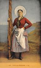 top022501 - Native Dress Postcard