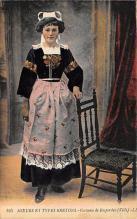 top022513 - Native Dress Postcard
