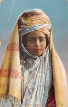 top022517 - Native Dress Postcard