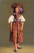 top022519 - Native Dress Postcard