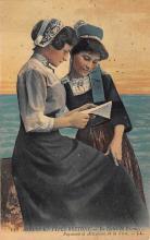 top022525 - Native Dress Postcard