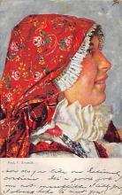 top022527 - Native Dress Postcard