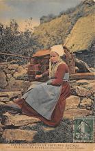 top022549 - Native Dress Postcard