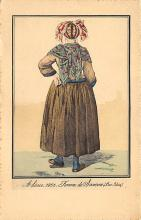 top022567 - Native Dress Post Card