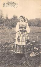 top022579 - Native Dress Post Card