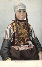 top022607 - Native Dress Post Card