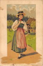 top022609 - Native Dress Post Card