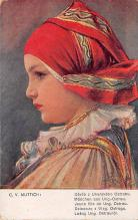 top022619 - Native Dress Post Card