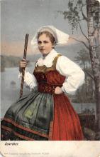 top022637 - Native Dress Post Card
