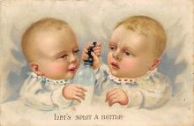 top022819 - Baby Bottle Post Card Post Card