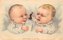 top022821 - Baby Bottle Post Card Post Card