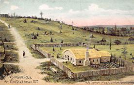 top022843 - Pilgrim Post Card