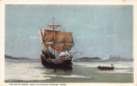 top022857 - Pilgrim Post Card
