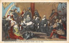 top022867 - Pilgrim Post Card