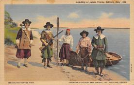 top022873 - Pilgrim Post Card