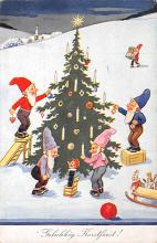 top022955 - Elves Post Card