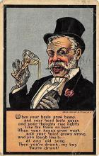 top023875 - Alcohol Post Card