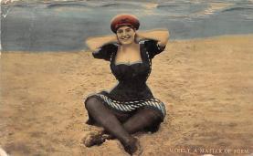 top024937 - Bathing Beauty Post Card