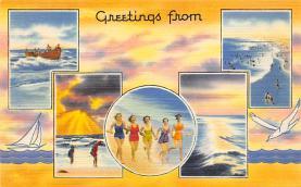 top024963 - Bathing Beauty Post Card