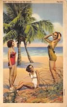 top025003 - Bathing Beauty Post Card