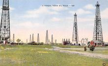 top025081 - Oil Wells Post Card