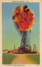 top025085 - Oil Wells Post Card