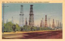 top025091 - Oil Wells Post Card