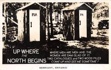 top025117 - Outhouses Post Card