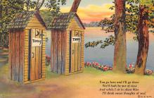 top025127 - Outhouses Post Card