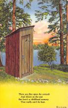 top025143 - Outhouses Post Card