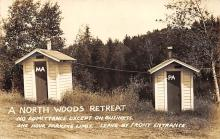 top025147 - Outhouses Post Card