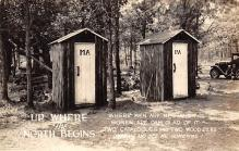 top025161 - Outhouses Post Card