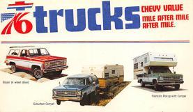 top025701 - Trucks / Buses /  Vans Post Card