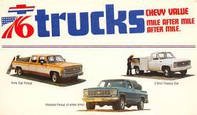 top025703 - Trucks / Buses /  Vans Post Card