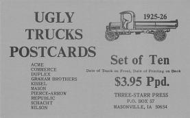top025705 - Trucks / Buses /  Vans Post Card