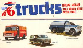 top025707 - Trucks / Buses /  Vans Post Card
